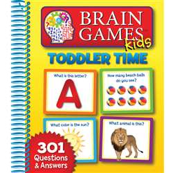 Brain Games Kids Toddler Time By Publications International Ltd