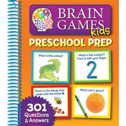 Brain Games Preschool Prep By Publications International Ltd