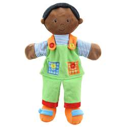Story Telling Puppets Boy Dark Skin, PUC001903