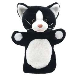 Puppet Buddies Cat (Black & White), PUC004604