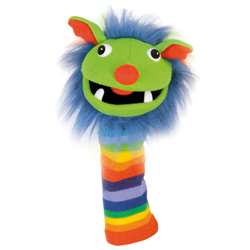 Rainbow Knitted Puppet, PUC007002