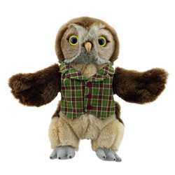 Dressed Animal Puppets Owl, PUC009908