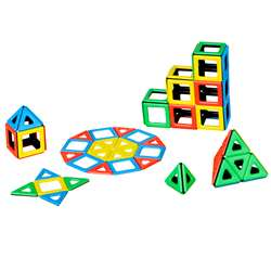 Magnetic Polydron Class Set, PY-501010