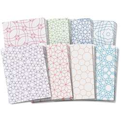 Roylco Design Craft Paper Tessellations Designs 8.5X11 24Sht By Roylco