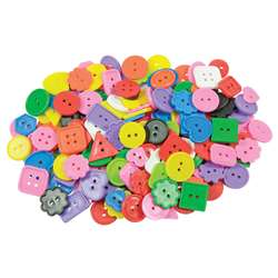 Craft Buttons Asst 1 Lb Pk By Roylco