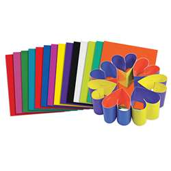 Roylco Double Color Card Sheets, R-22052