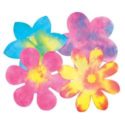 Color Diffusing Flower 80/Pk By Roylco