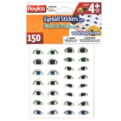 Eyeball Stickers Large Eyes By Roylco