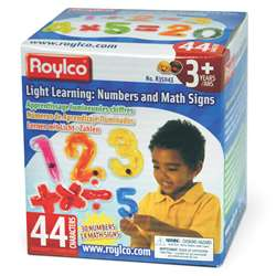 Numbers & Math Signs, R-35043