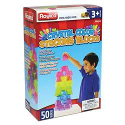 Crystal Color Stacking Blocks, R-60310
