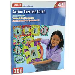 Action Exercise Cards, R-62019