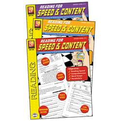 Reading For Speed & Content 3-Set Books, REM1043