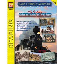 Daily Lit 19Th Century Amer History, REM391