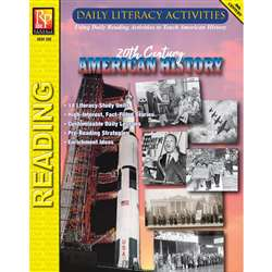 Daily Lit 20Th Century Amer History, REM392