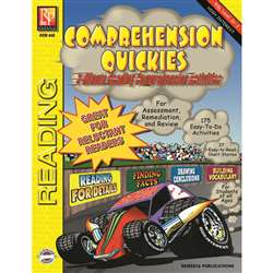 Comprehension Quickes Reading Level 2 By Remedia Publications