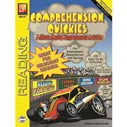 Comprehension Quickes Reading Level 3 By Remedia Publications