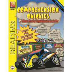 Comprehension Quickes Reading Level 4 By Remedia Publications