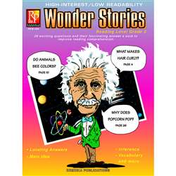 Wonder Stories 3Rd Gr Reading Level Ing Level By Remedia Publications