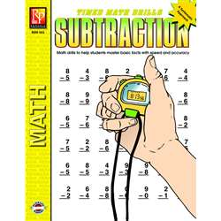 Timed Math Facts Subtraction By Remedia Publications