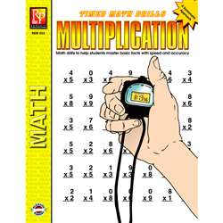 Timed Math Facts Multiplication By Remedia Publications