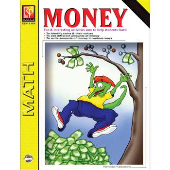 Money Grades 3-4 By Remedia Publications