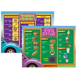 Drive Thru Menu Math 6Pk Extra Menus Gr 3 By Remedia Publications