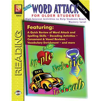 Word Attack For Older Students By Remedia Publications