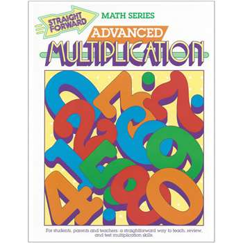 Straight Forward Math Adv Multiplic, REMGP017