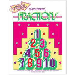 Straight Forward Math Fractions, REMGP039