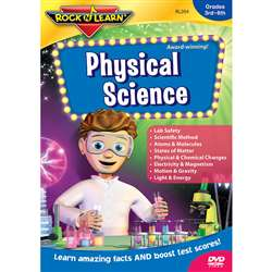 Physical Science Dvd Gr 5 & Up By Rock N Learn