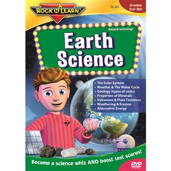 Earth Science Dvd Gr 5 & Up By Rock N Learn