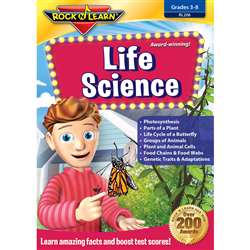 Life Science Dvd By Rock N Learn