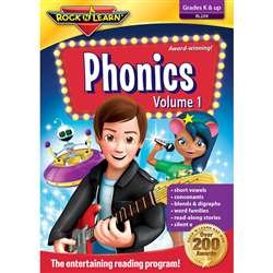 Phonics Volume 1 By Rock N Learn