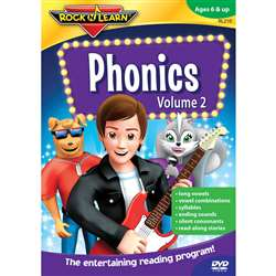 Phonics Volume Ii By Rock N Learn