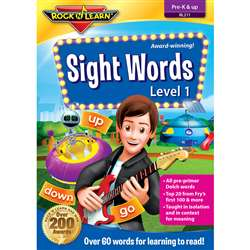 Sight Words Dvd By Rock N Learn