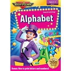 Alphabet Dvd By Rock N Learn