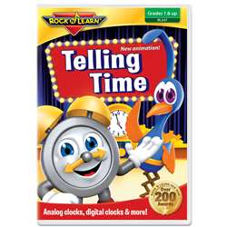 Rock N Learn Telling Time DVD, RL-347