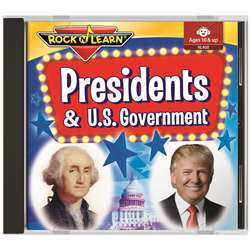 Presidents/Us Gov Book And Cd Set, RL-400
