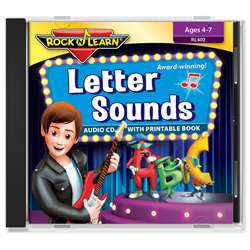 Letter Sound Cd & Downloadable Book, RL-402