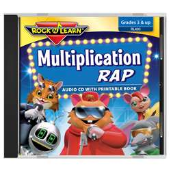 Rock N Learn Multiplication Rap Cd, RL-403