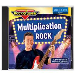 Rock N Learn Multiplication Rock Cd, RL-405