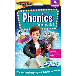 Phonics Double Cd & Book Program Audio/Cd By Rock N Learn