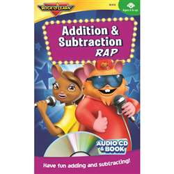 Addition & Subtraction Rap Cd/Book By Rock N Learn