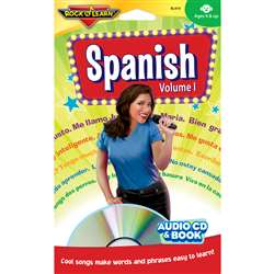 Spanish Vol. 1 Cd+Book By Rock N Learn