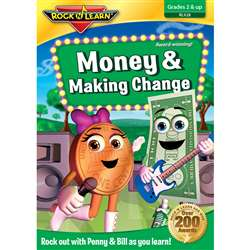 Money & Making Change Dvd By Rock N Learn