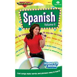 Spanish Volume Ii Cd + Book By Rock N Learn