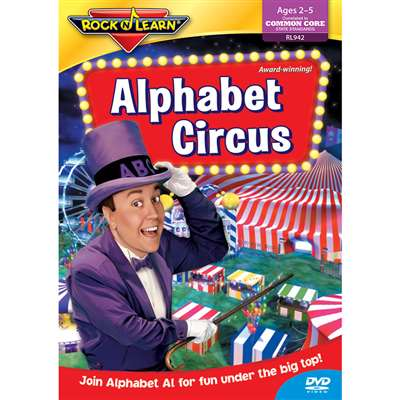 Alphabet Circus On Dvd By Rock N Learn