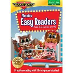 Phonics Easy Readers On Dvd By Rock N Learn