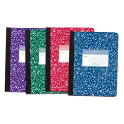 Marble Composition Book Asst Colors, ROA77229