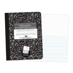 Marble Composition Book Picture Story Ruled, ROA97228